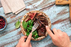 beef and spinach are good sources of iron in the diet
