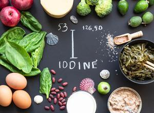 iodine food fact sheet