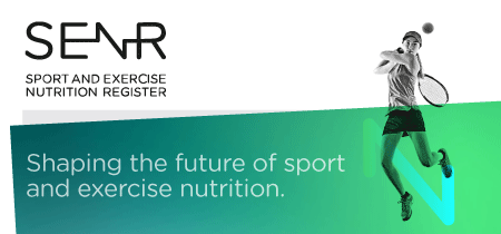 SENR Shaping the future of sports and exercise nutrition