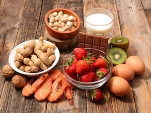 Food allergy and food intolerance - common food allergens